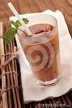 Free Iced Milk Tea Royalty Free Stock Photos - 14595538