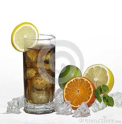 Iced refreshment drink
