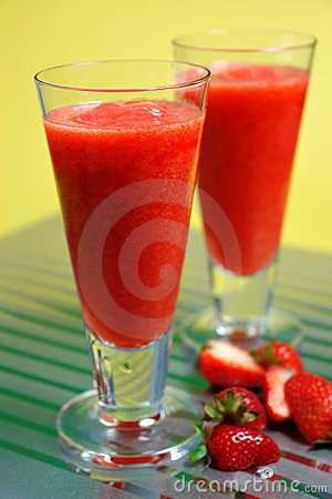 Iced Strawberry Daiquiri