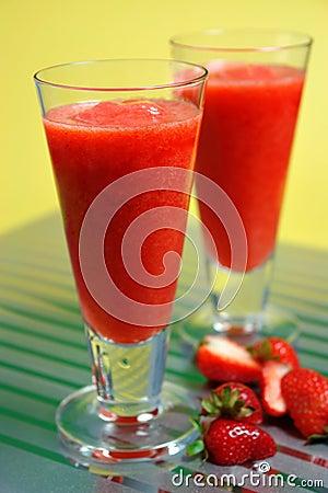 Free Iced Strawberry Daiquiri Stock Photos - 927613