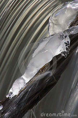 Free Iced Waterfall 2 Stock Image - 78811