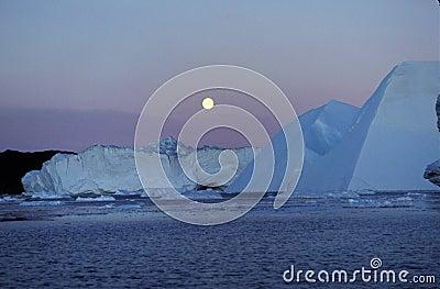 Icefjord Ilulissat Northern Greenland