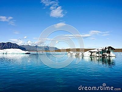 Iceland arctic sea
