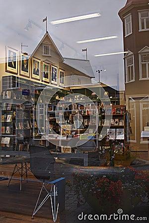 Free Iceland: Bookstore In Akureyri Royalty Free Stock Images - 21898519