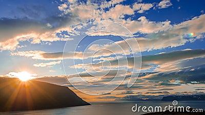 Iceland góry timelapse zdjęcie wideo