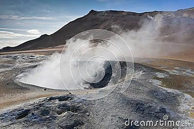 Iceland, geyser