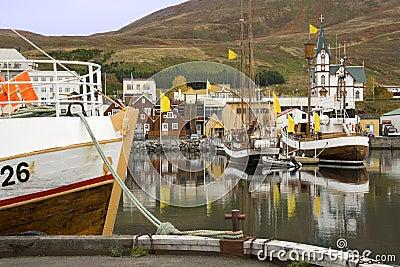 Iceland - Husavik Harbor