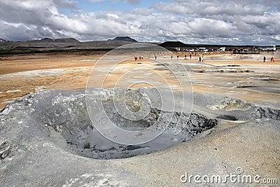Iceland - mud pool