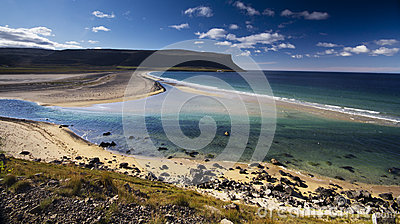 Iceland ocean beach landscape
