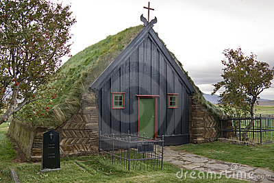 Iceland - Vidimyri Turf Church