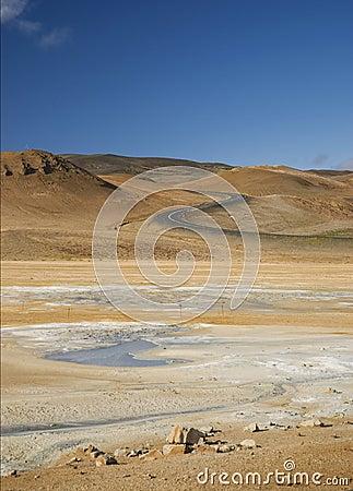 Iceland volcanic desert landscape europe nature