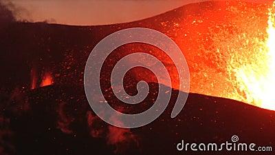 Iceland wulkan