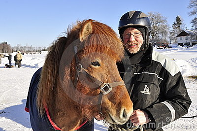 Icelandic horse competition Editorial Photo