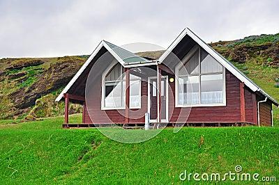 Icelandic houses Editorial Photo