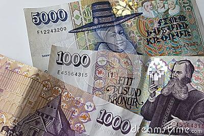 Icelandic money