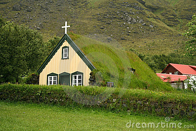 Icelandic turf church