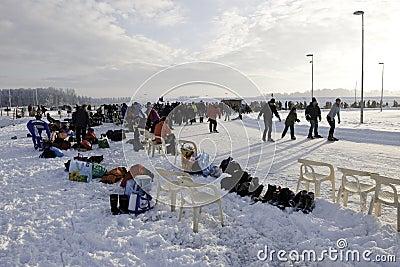 Iceskating Editorial Stock Photo