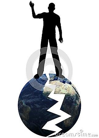 Ich brach die Erde