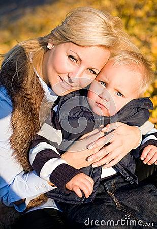Ich und meine Mamma.