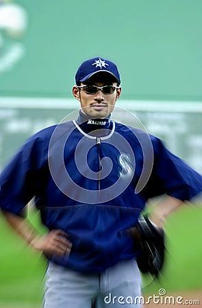 Ichiro Suzuki Seattle Mariners Editorial Stock Photo