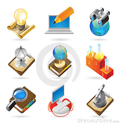Icon concepts for science