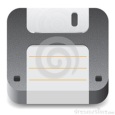 Icon for floppy disk