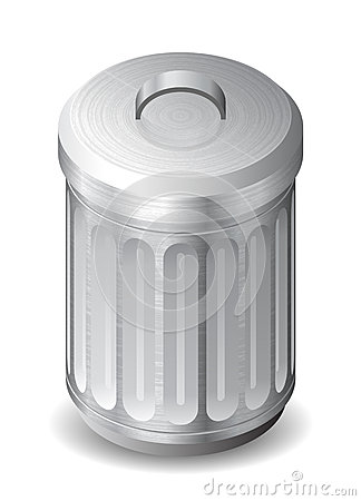 Icon for garbage can