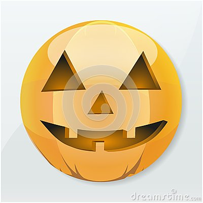 Icon Halloween pumpkin holiday