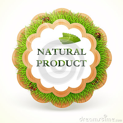 Icon for healing food. Natural product