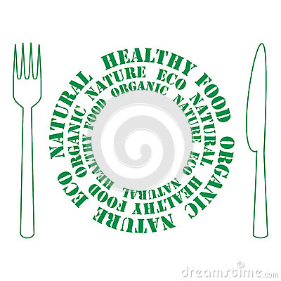 Icon of healthy food