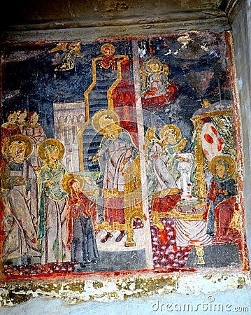 Free Icon In The Church St. Nicholas In Schei (town Brasov), Transylvania Royalty Free Stock Image - 70748656