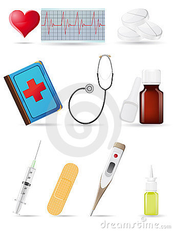 Icon medical set