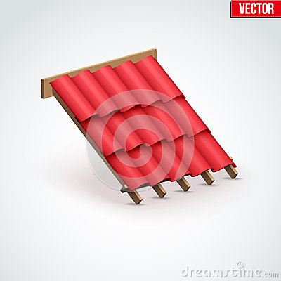 Free Icon Metal Cover On Roof Stock Image - 66074281
