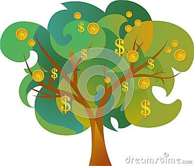 Icon of money tree
