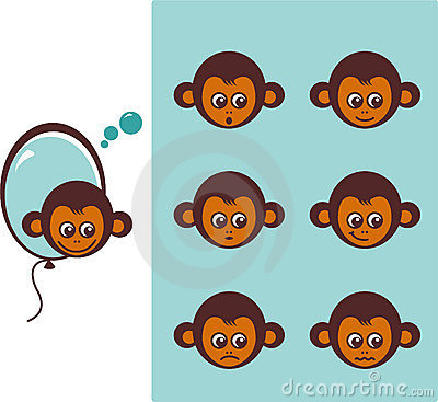 Icon of monkeys