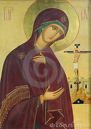 Icon of Mother of God and Jesus Christ