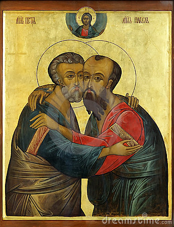 Free Icon Of Apostles Peter And Paul Stock Image - 11837681