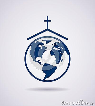 Free Icon Of Church, Vector Stock Photos - 47333063