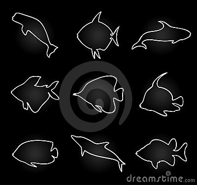 Free Icon Of Fish2 Royalty Free Stock Image - 18080076