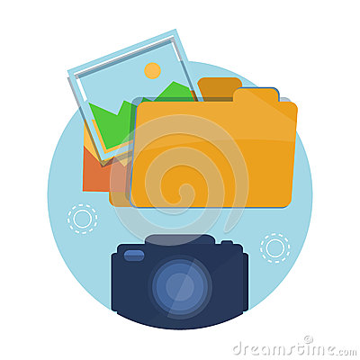 Free Icon Of Folder With Pictures Stock Photography - 41562882