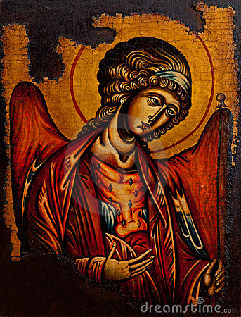 Free Icon Of The Archangel Michael Stock Photography - 19805692