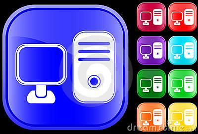 Icon of a personal computer