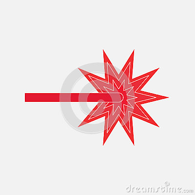 Free Icon Red Laser Beam Royalty Free Stock Photos - 95987978