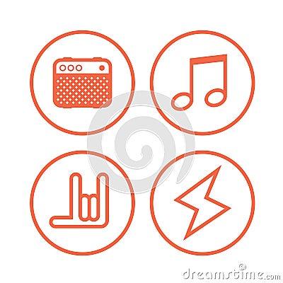 Rock Music Symbols