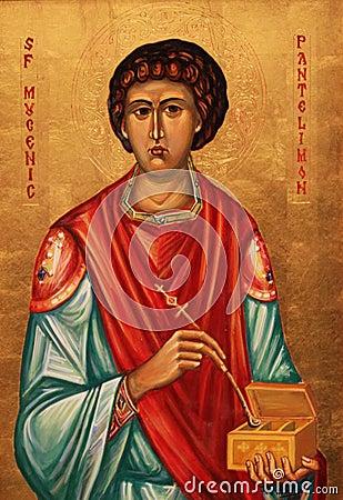 Icon of Saint Pantaleon