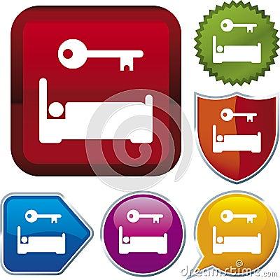 Icon series: accommodation