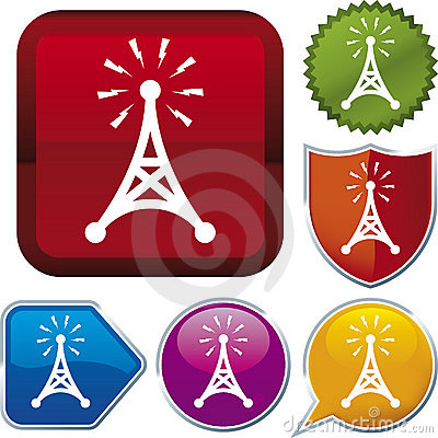 Free Icon Series: Antenna Stock Image - 4478331