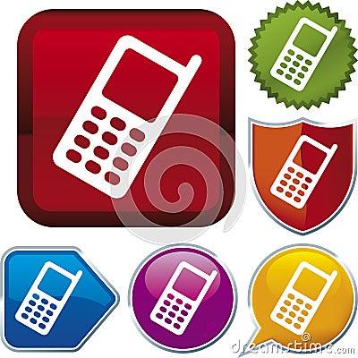 Icon series: cellphone