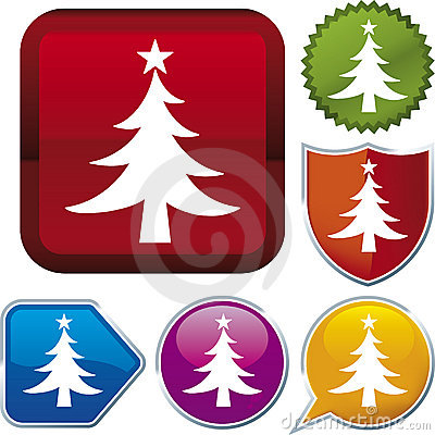 Icon series: christmas tree