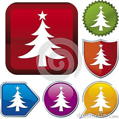 Icon series: christmas tree